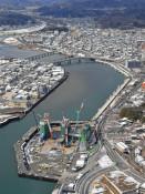 空から見た被災地の現在 沿岸地域の様子をヘリから撮影