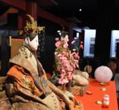 おひなさまの顔立ちに歴史 北上市立博物館で29日まで人形展