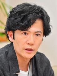 「一人一人の思いが重なり合えば大きな力になる」と復興支援への思いを語る稲垣吾郎さん