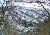 栗駒国定公園・夏油温泉いで湯ライン(北上市)=3月12、15日