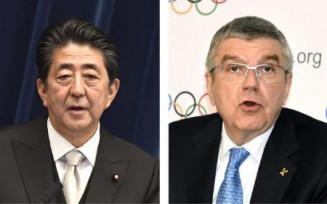 安倍晋三首相、IOCのバッハ会長