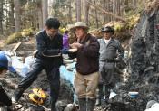 新種の恐竜発掘に期待 早稲田大チームが調査
