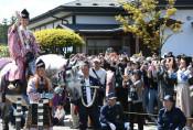 春の藤原まつり中止 2011年の東日本大震災以来