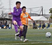 富士大と日鉄釜石、準決勝へ サッカー県選手権