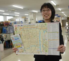 子育て世代向けのパンフレットを企画した岡田芳美さん