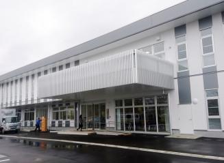 開所した貸研究施設「ヘルステック・イノベーション・ハブ」。ヘルスケア産業の集積と発展が期待される