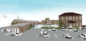 温浴施設の整備検討 紫波町旧庁舎跡地 サウナやレストランも