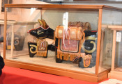 郷土玩具「くびふりべーご」を後世へ 講習会記録集を作成