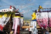 けんか七夕が中止 陸前高田気仙町、震災後も毎年継続