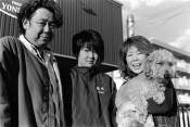 あしあと(33)米沢ゆみ子さん、伸吾さん、穂花さん(陸前高田)
