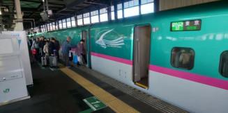 JR盛岡駅の新幹線ホーム