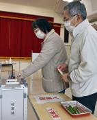 投票率は過去最低 大船渡市議選、4新人含む20人当選