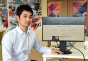 ウェブサービス開始を支援 八幡平市の男性がオンライン教材