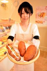 滝沢市産のサツマイモ「クイックスイート」を活用した新作パン