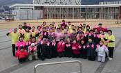 創作体操、輝く日本一 50人、一体感を演出