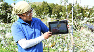 「新型コロナウイルスが終息したら畑での読み聞かせもやりたい」と意欲を示す吉田司さん