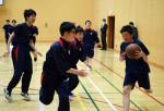 吉報、生徒に喜び広がる 心機一転 練習に熱