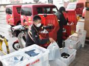 国配布の布マスク配達 23日、盛岡市内からスタート