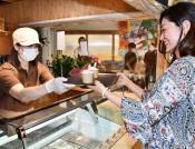 釜石印のジェラート店 魚河岸テラスにきょう開設