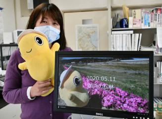 野田村のイメージキャラクターのんちゃんが村内各所を巡る「#おうちで野田村」