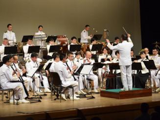 国内最高峰の演奏を披露する海上自衛隊東京音楽隊