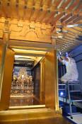 世界遺産9年、よみがえる輝き 平泉・中尊寺金色堂修理進む