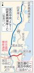 宮古港-宮古中央12日開通 復興支援道路、盛岡や三陸道に直結