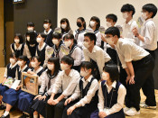 震災伝承、3高校連携 新たな取り組み探る生徒交流会