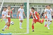 県U18サッカー、盛岡商V 盛岡誠桜に3-0