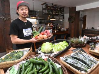 火災被害を乗り越え、カフェと産直を融合して再び開店したPENCOの伊藤明日香代表