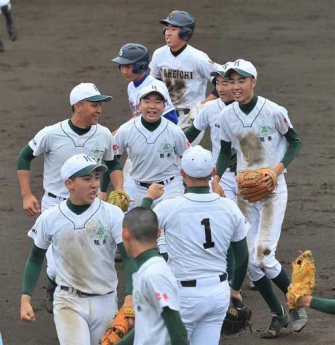熱戦が続く夏季県高校野球大会