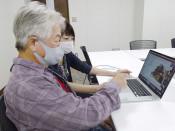 震災時の写真 後世に 陸前高田で被災の男性、玉川大生と共有
