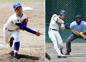 盛岡大付、一関学院あす決勝 夏季県高校野球大会