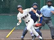 集中打で先制、流れ渡さず 夏季県高校野球、一関学院V