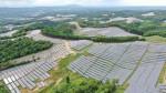 未来へ続く緑の丘陵 軽米の大規模太陽光発電所