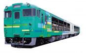 窓なし列車「風っこ」の旅 JRと三鉄、花巻―宮古間