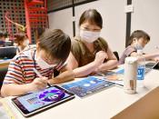 楽しいねプログラミング 北上で県内小学生対象体験教室
