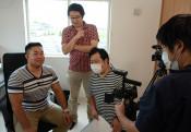 本県移住促進へ動画撮影 移住者の経験談、10月公開へ
