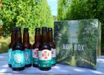 ホップ収穫祭の雰囲気楽しもう ビールギフト登場