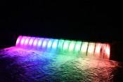 地域の輝き夜景遺産に ライトアップ部門で県内初認定