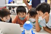 考え、動かす面白さ 釜石でプログラミング体験教室