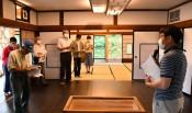 昭和の趣 交流の場に 田野畑・古民家を活用、宿泊も