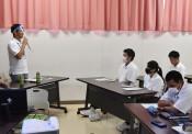 花巻農高生、将来に刺激 県ILC特命参事招き講演会