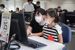 岩手大で体験教室開催 小学生がプログラミングに挑戦