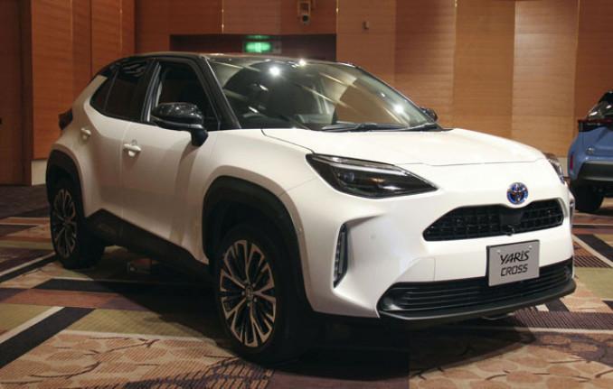 トヨタ自動車の小型SUV「ヤリスクロス」