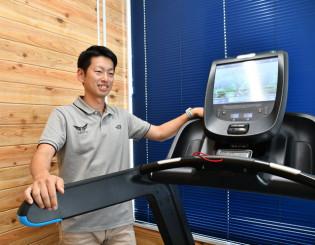 ランナー向け鍼灸院を開設した高橋裕太さん。東海大駅伝チームトレーナーの経験を生かして地元のスポーツ振興に貢献する