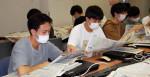 就活役立つ情報収集学ぶ 盛岡・上野法律ビジネス専門学校