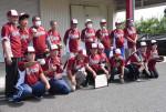 利用者 白球追う喜び 盛岡・障害者就労支援施設がソフトチーム
