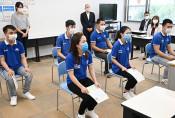 待望、実習生が来県 盛岡の専門学校、ベトナムから6人