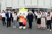 優勝へ「ゆめちゃん」を激励 滝沢で最後のゆるキャラGP